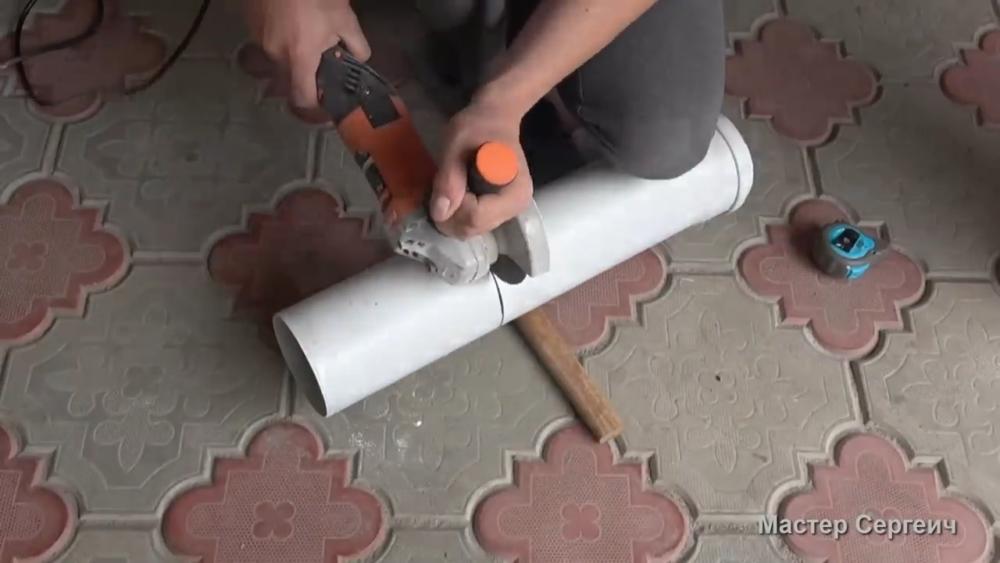 изготовление листового пластика, шаг 1