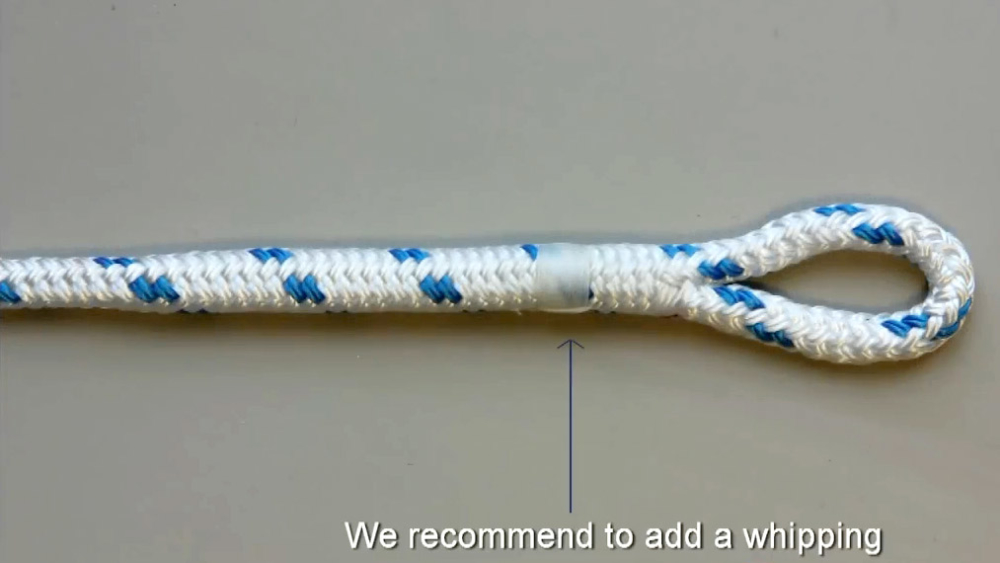 красивая петля на веревке своими руками