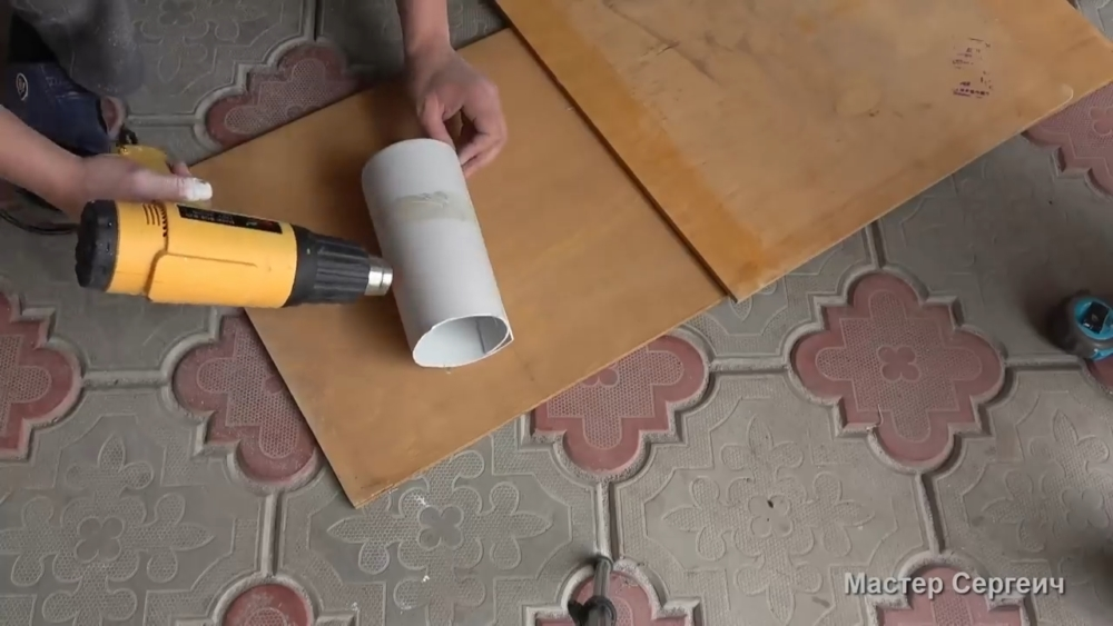 изготовление листового пластика, шаг 3