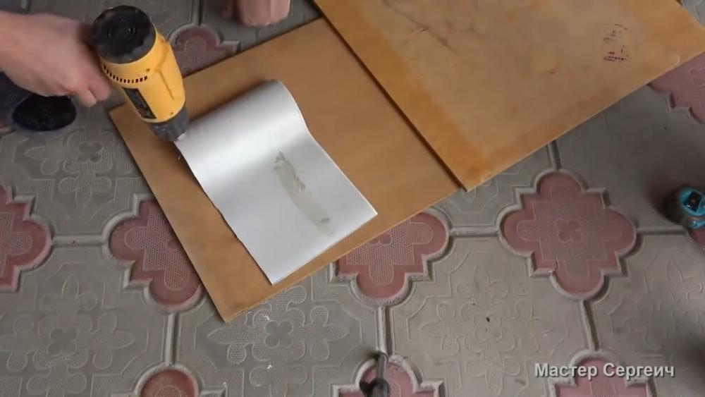 изготовление листового пластика, шаг 5