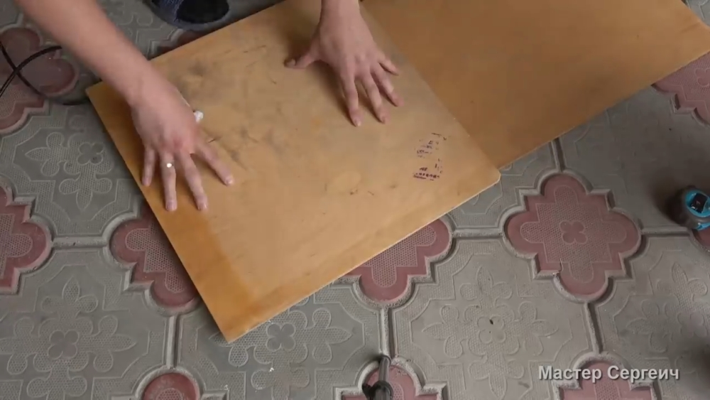 изготовление листового пластика, шаг 6